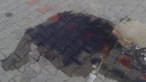 jak usunąć plamy olejowe