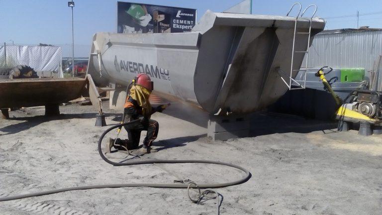 piaskowanie